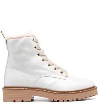 Hogan Faux Fur-Lined Boots