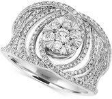 Effy Bouquet by Diamond Ring (1 ct. t.w.) in 14k White Gold