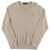 Polo Ralph Lauren Mens Cashmere Blend V-Neck Pullover Sweater