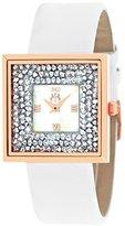 Jivago Women's JV7412 Brilliance-S Analog Display Quartz White Watch
