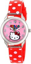 SANRIO Kids' HK1073B Hello Kitty Gift Backpack Watch Set