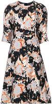 Marni patterned dress - women - Silk/Polyamide/Viscose - 38