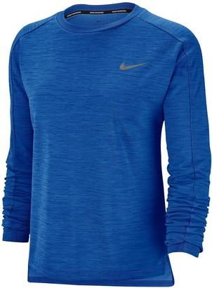 Nike Running Pacer Long SleeveTop - Sapphire
