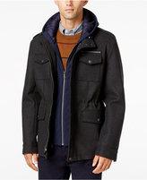 Tommy Hilfiger Men's Military Hoodie Coat