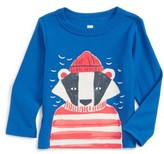 Tea Collection Infant Boy's Salty Badger Graphic T-Shirt
