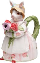 """StealStreet CG 30216 9"""" Mrs. Bunny in Spring Rose Dress Teapot Service for One"""
