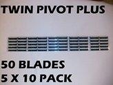 Personna Twin Pivot Plus (50 Blades/Order) Replaces Auto Plus, Fits Atra Razors