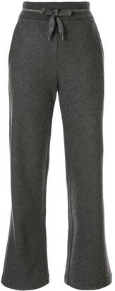 Lorena Antoniazzi Welless kick-flare track pants