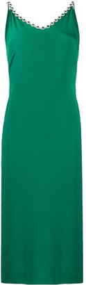 Christopher Kane Crystal-Embellished Camisole Dress