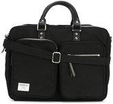 SANDQVIST leather handle laptop bag - women - Buffalo Leather/Nylon/Polyester/Viscose - One Size