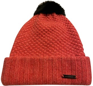 Burberry Pink Wool Hats