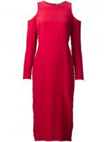 Piamita shoulder cutout dress