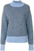 Marni patterned turtleneck sweater