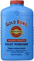 Gold Bond Chattem Foot Powder - Maximum Strength 10 oz