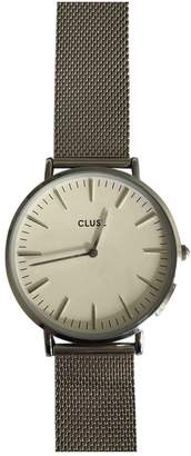 Cluse Silver Steel Watches