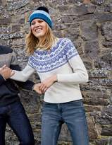 Boden Heather Fair Isle Sweater