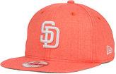New Era San Diego Padres Heather C-Dub 9FIFTY Snapback Cap