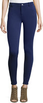 MICHAEL Michael Kors Skinny Thick-Knit Leggings, Navy