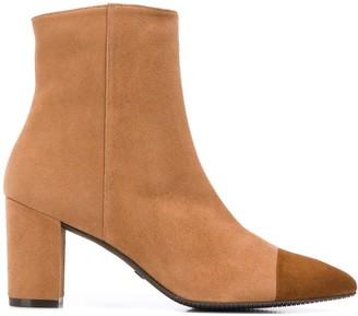Stuart Weitzman Jill cap-toe ankle boots