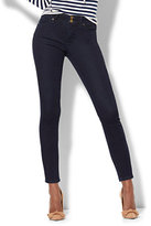 New York & Co. Soho Jeans - Power Shaper Ankle Jean - Dark Midnight Wash