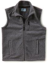 Class Club Big Boys 8-20 Fleece Zip-Front Vest