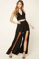 Forever 21 FOREVER 21+ M-Slit Palazzo Pants