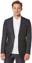 Perry Ellis Cotton/Linen Jacquard Jacket