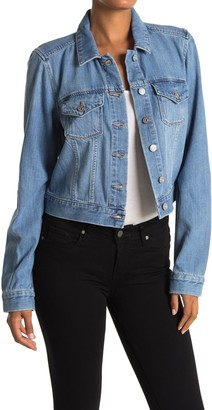 Paige Gillian Denim Stretch Trucker Jacket