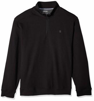 Izod Men's Big and Tall Advantage Performance 1/4 Zip Pullover Fleece