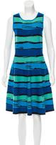 Issa Striped Midi Dress