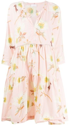 P.A.R.O.S.H. Floral Smock Dress