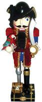 Asstd National Brand 14 Red Coat Peg Leg Pirate Nutcracker