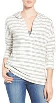 Caslon Hooded Pullover (Regular & Petite)