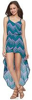 Candies Juniors' Candie's® Print Skirt Overlay Romper