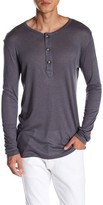 Pierre Balmain Long Sleeve Henley Shirt