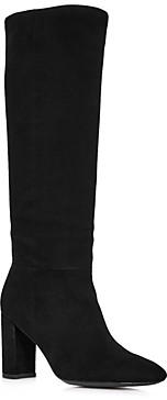 Charles David Women's Biennial Tall Suede Block Heel Boots