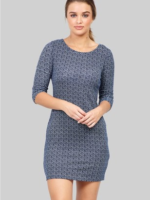 M&Co Izabel geo print shift dress