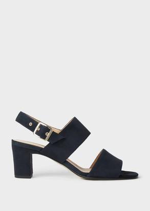 Hobbs Katrina Suede Block Heel Sandals