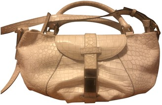 Max Mara White Patent leather Handbags