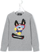 DSQUARED2 cartoon print sweatshirt