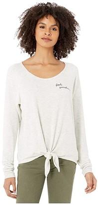 good hYOUman Meka Start Somewhere Pullover (Natural) Women's Clothing