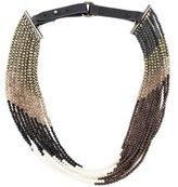 Brunello Cucinelli Multistone Beaded Necklace w/ Tags