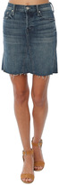 Mother The Four Points Mini Fray Skirt