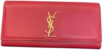 Saint Laurent Kate monogramme Other Leather Clutch bags