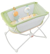 Fisher-Price Rock N Play Portable Bassinet - Green