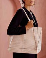 Ted Baker Flamingo print shopper bag