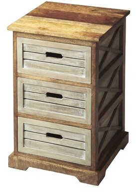 Thumbnail for your product : Laurel Foundry Modern Farmhouse Bartouille 3 Drawer Accent Chest