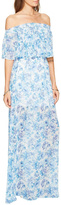 Show Me Your Mumu Hacienda Maxi Blues Dress