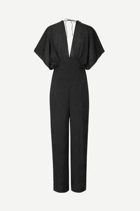 Samsoe & Samsoe Black Vaal Jumpsuit - S   black - Black/Black