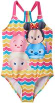 Disney Disney's Tsum Tsum Minnie Mouse, Elsa & Piglet Girls 4-6x One-Piece Swimsuit